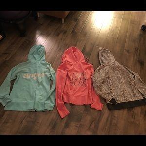 Victoria's Secret Tops - Victoria's Secret hoodie bundle size Medium/Large